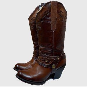 Caballerango Brown Cowboy Boots